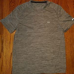 Calvin Klein gray performance regular fit top M